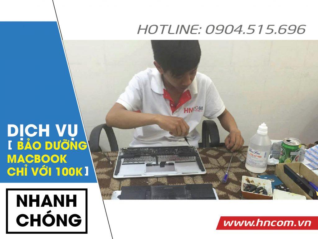 Vệ Sinh Laptop Macbook Pro - Macbook Air 1