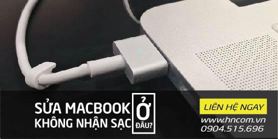 Sửa Macbook không nhận sạc ở đâu? 1