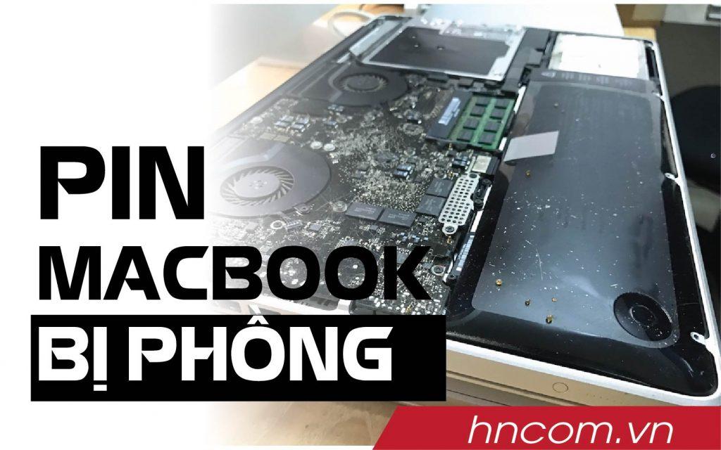 Những thông tin hữu ích nên biết khi macbook bị phồng pin 1