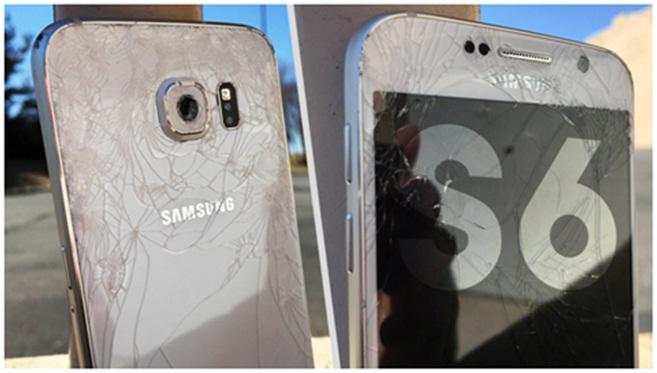 Bị luộc đồ khi ép kính Samsung S6 S7 edge tại các cửa hàng Thái Hà Hà Nội 2