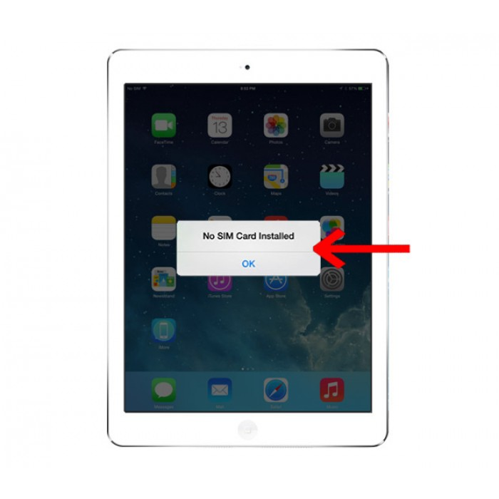 Tình trạng nào khiến iPad bị lỗi không nhận được sim 1