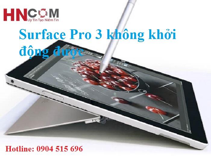 Surface Pro 3 không khởi động được: Lỗi do đâu? Cách khắc phục như thế nào? 1